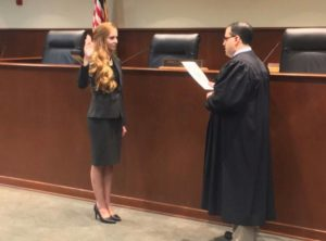 Brittany Cover sworn into the Florida Bar by Second District Court of Appeal 2